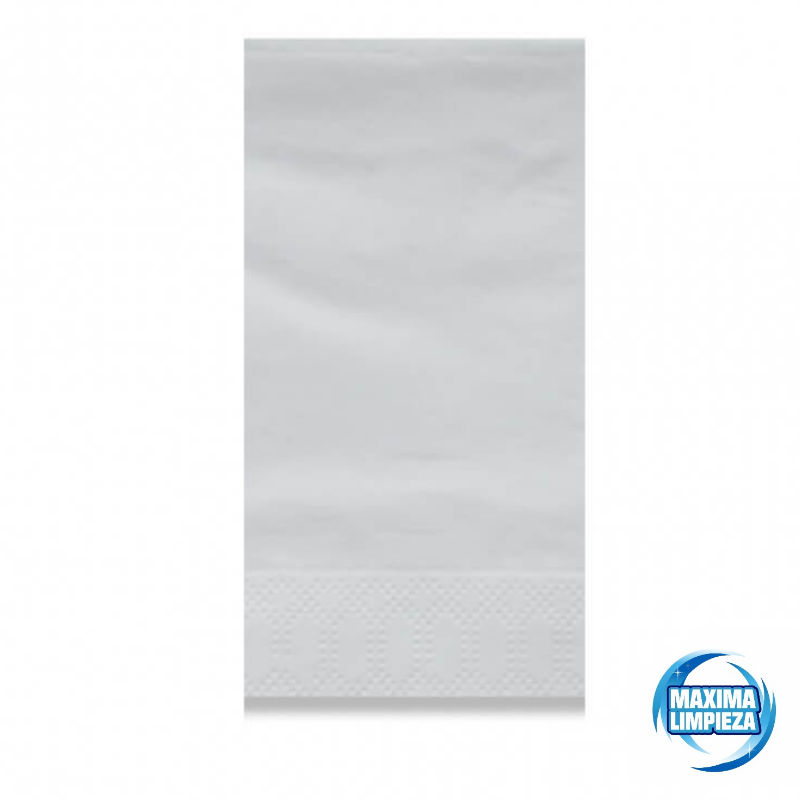 0121523-servilletas-40×40-2c-pliegue-americano-blanca-maximalimpieza