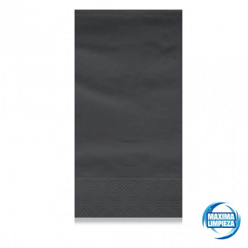 0121555-servilletas-40×40-2c-pliegue-americano-negro-maximalimpieza