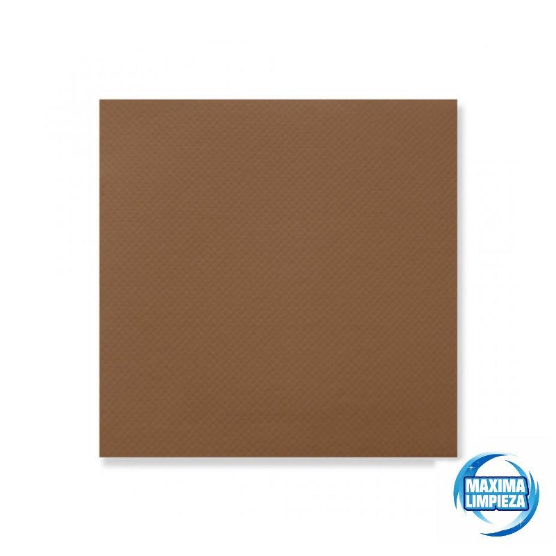 0121573-servilletas-40×40-2c-punta-marron-maximalimpieza