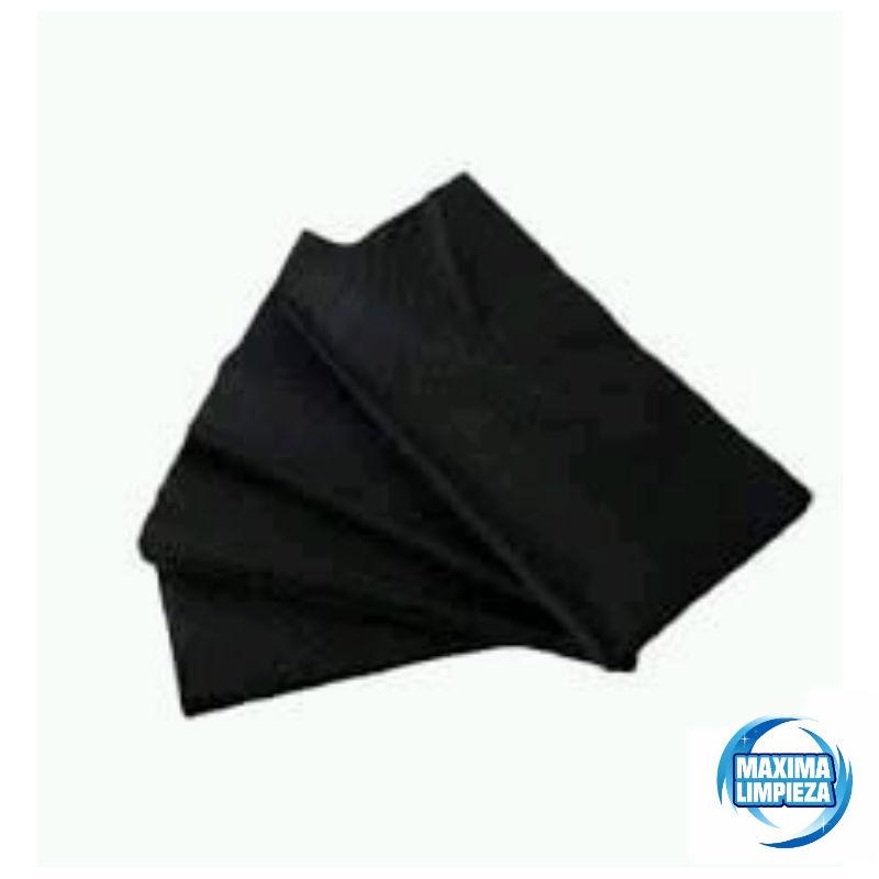 0121576-serviletas-40×40-punta-pliegue-americano-negro-maximalimpieza