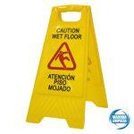 1281101-señal-suelo-mojado-castellano-ingles-maximalimpieza